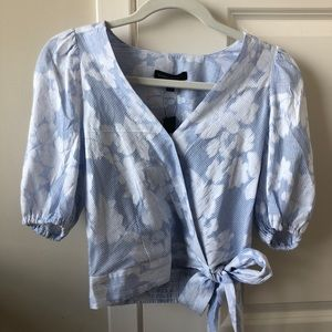 Banana Republic Puff Sleeve Blouse